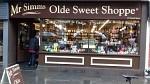 Snoepwinkel in Inverness, Schotland