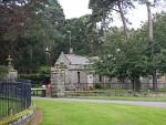 Gatelodge in de buurt van Elgin, Schotland