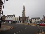 Het centrum van Selkirk, Schotland