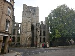 De abdij van Kelso, Schotland