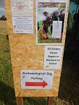 Archeologische opgraving in Ancrum, Schotland
