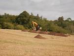 Opgraving van een middeleeuws gebouw in Ancrum, Schotland