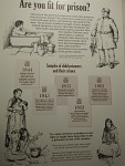 Ook kinderen onder de 10 werden in de gevangenis gezet, Jedburgh, Schotland