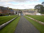Jedburgh vanaf de Castle Jail, Schotland