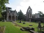 Ruïnes van de abdij van Dryburgh, Schotland