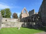 De abdij van Dryburgh, Schotland