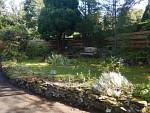 Tuin bij ons huisje in Selkirk, Schotland