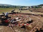 Men mag tot 2 meter diep graven in Ancrum, Schotland