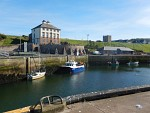De haven van Eyemouth