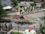 Ravage na de overstromingen, Coo, Belgie