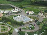 Mini-Europa vanuit het Atomium, Belgie