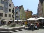 Het centrum van Füssen, Duitsland