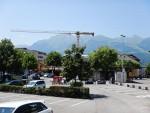 Er wordt veel gebouwd in Vaduz, Liechtenstein