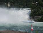De watervallen van Schaffhausen, Zwitserland