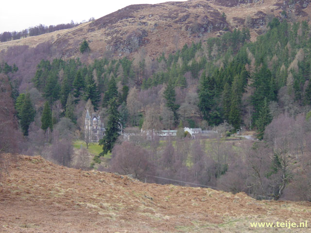 Allean House in the Tummel vallei